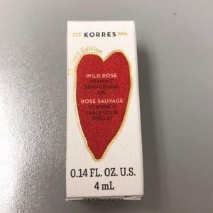 Korres wild rose vitamin c oil mini